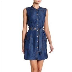 Splendid Dresses - Splendid NWT Sleeveless Jean Mini Dress